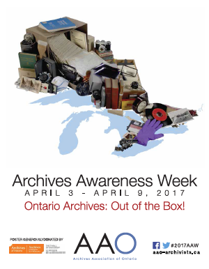 Archives Awareness Week 2017