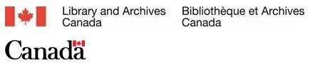 Library and Archives Canada and Government of Canada Logos